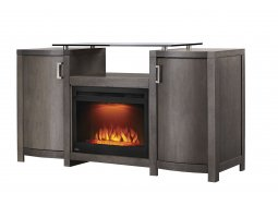 Napoleon Whitney entertainment cabinet with electric fireplace