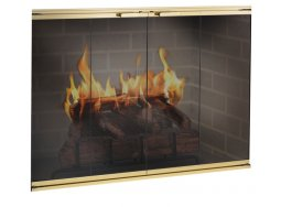 Design Specialties Fine Line Elite fireplace doors