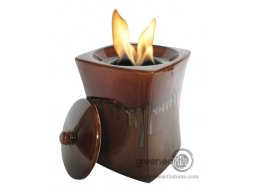 Green Earth Firepot mini flare chestnut