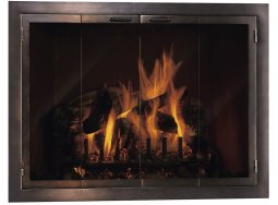 Design Specialties Carolina fireplace doors