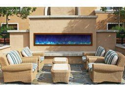 Amantii BI-72-SLIM panoramic fireplace