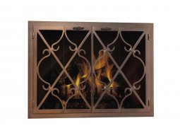 Design Specialties Forge Craft Premier Banded Scroll doors