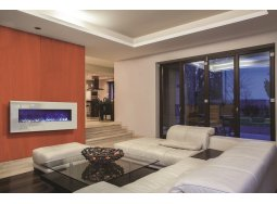 Amantii WM-BI-48-5823-WHTGLS electric fireplace