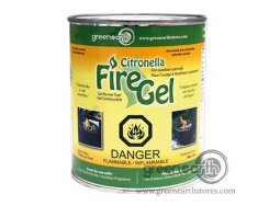 Green Earth Firepot fire gel citronella