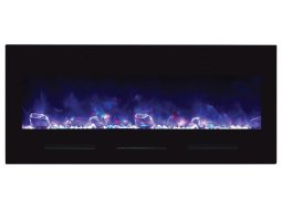 Amantii BI-FI-50-FLUSHMT-BLKGLS electric fireplace