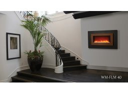 Sierra Flame WM-FML-40 wall-mount fireplace
