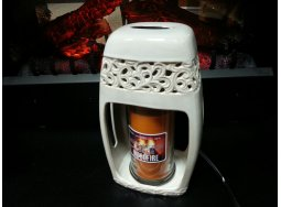 Ceramic Candle Warmer Sandstone