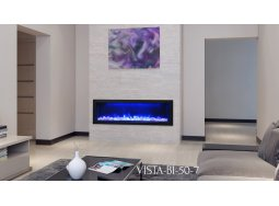 Sierra Flame VISTA-50-7 linear fireplace