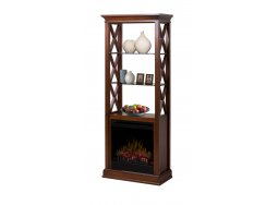 Dimplex Seabert bookcase fireplace
