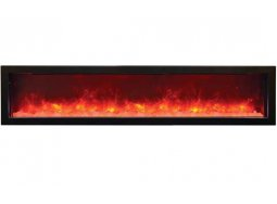 Sierra Flame Vista-BI-72-Slim electric fireplace