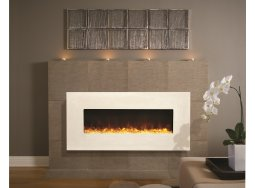 Amantii BLT-IN-5124-MODERNO-TUSCANCREAM electric fireplace