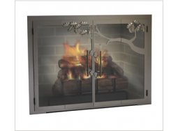 Design Specialties Forge Craft Premier fireplace doors