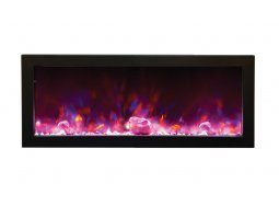 Amantii BI-40-DEEP panoramic electric fireplace