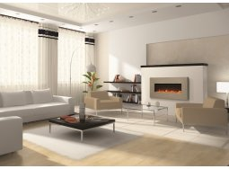 Amantii BLT-IN-5124-MODERNO-VENETIANGRAY electric fireplace
