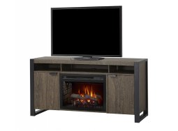 Dimplex Pierre media cabinet with electric fireplace