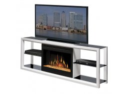 Dimplex Novara White SSGFP-300-W fireplace cabinet