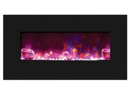 Amantii WM-BI-FI-34-4423-BLKGLS electric fireplace