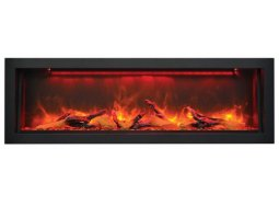 Sierra Flame Vista-bi-50 deep electric fireplace