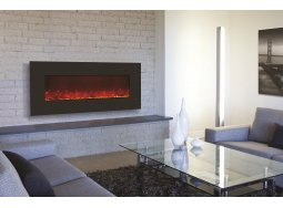 Amantii WM-BI-43-5123-BLKGLS electric fireplace